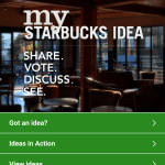 Screenshot_20160605-065951 - MyStarbucksIdea homescreen