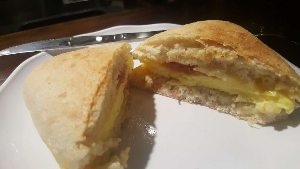 1 - 1 - 20160716_075742 the bacon gouda breakfast sandwich - Starbucks
