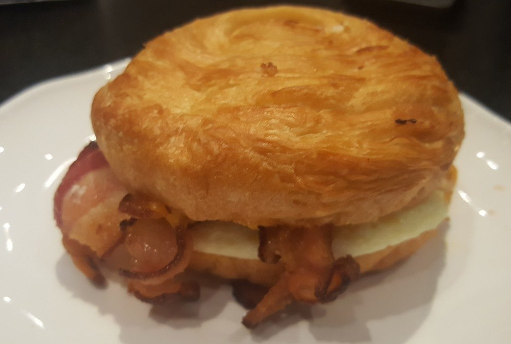 1 - 1 - 20160717_204422 starbucks double smoked bacon breakfast sandwich