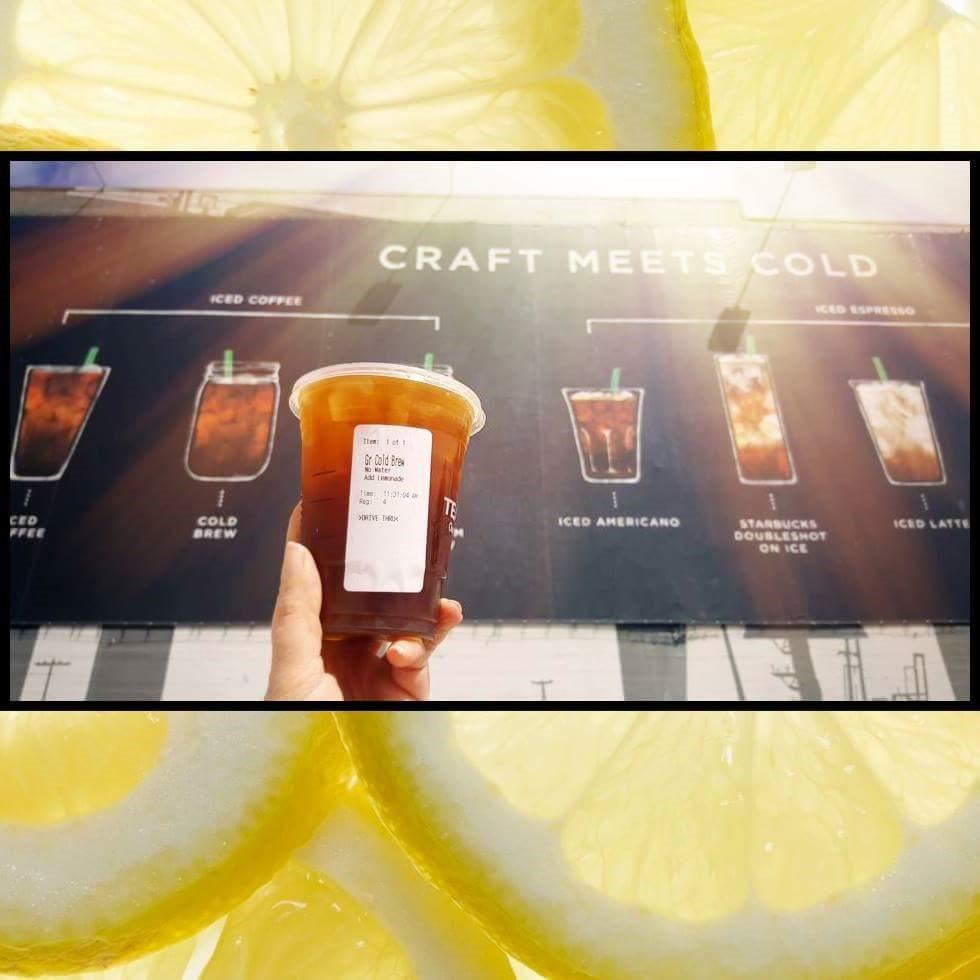Your Cold Brew is Demanding Lemonade.