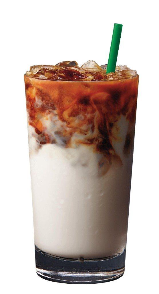 Iced Almond Milk Latte Macchiato - 1