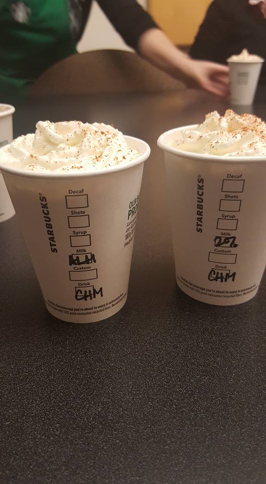 The Pumpkin Spice Latte has arrived; The Chile Mocha is right around the corner.