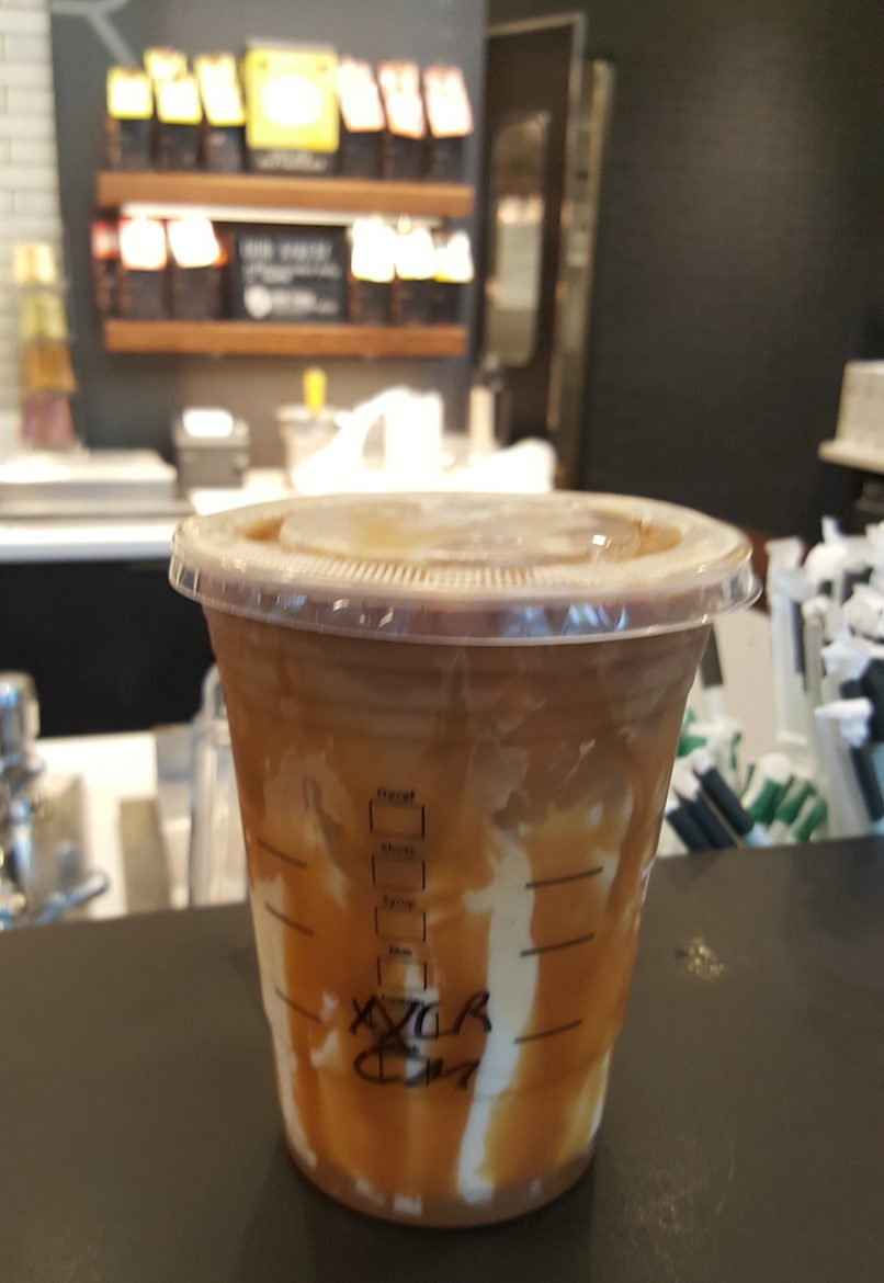 Understanding Your Iced Caramel Macchiato Stirred Upside Down Starbucksmelody Com