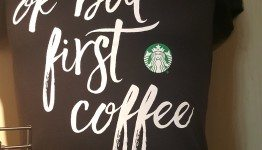 20160928_161149 ok but first coffee tshirt at the coffee gear store starbucks