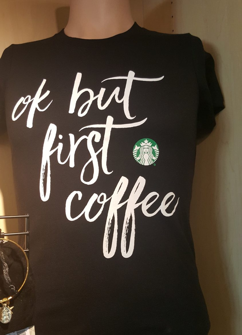 Ok but first coffee t-shirt and more. Must-have t-shirt.