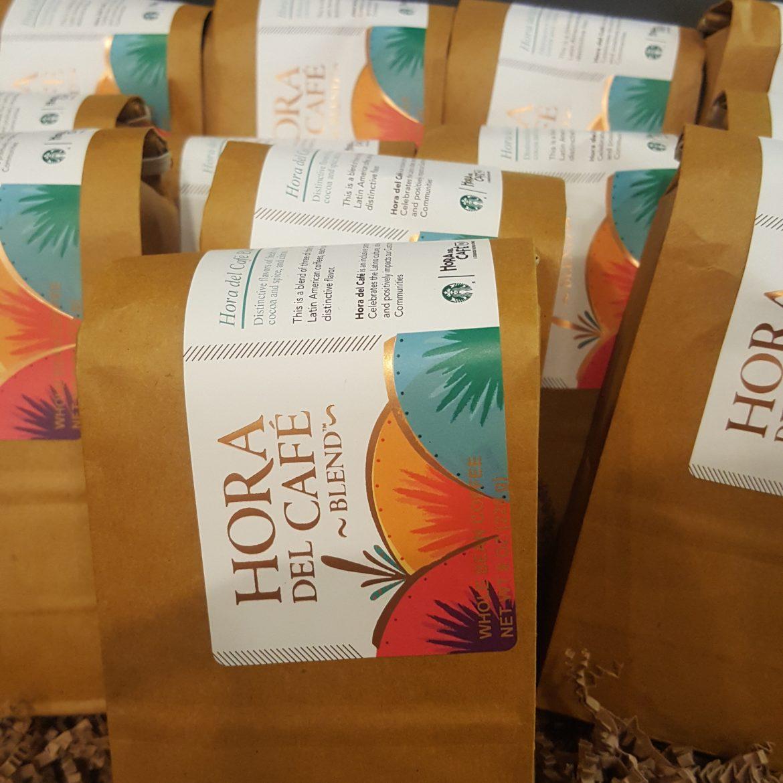 Hora Del Café Blend : A special coffee for 85 Starbucks stores.
