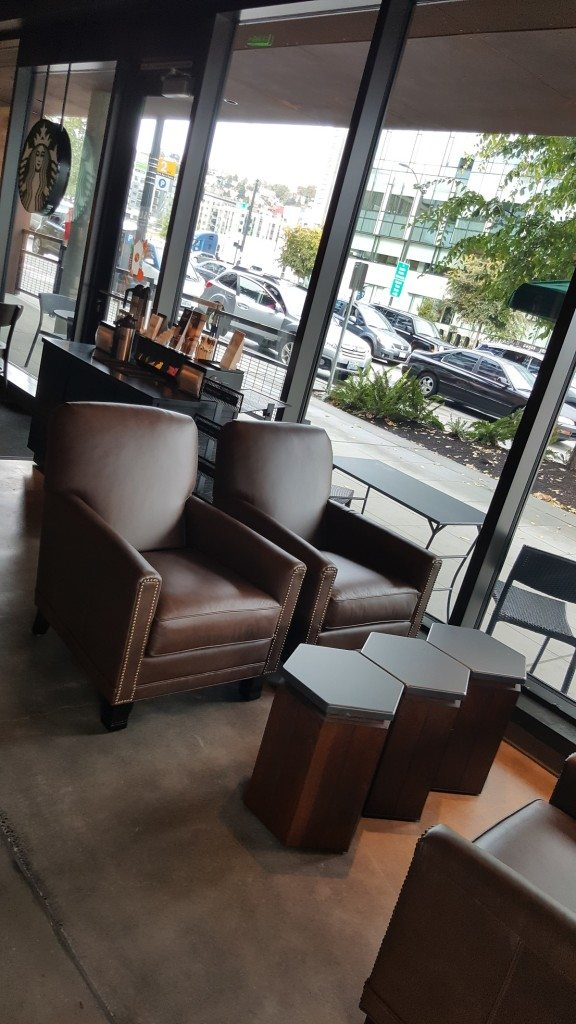 20161008_112605[1] comfy seating at the Westlake and Mercer Starbucks