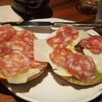 20161016_145934 the salami and cheese bagel