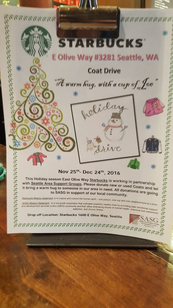 1 - 1 - 20161124_082451 sign for coat drive