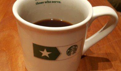 20161109_175727 Proudly Serving Those Who Served Mug Starbucks