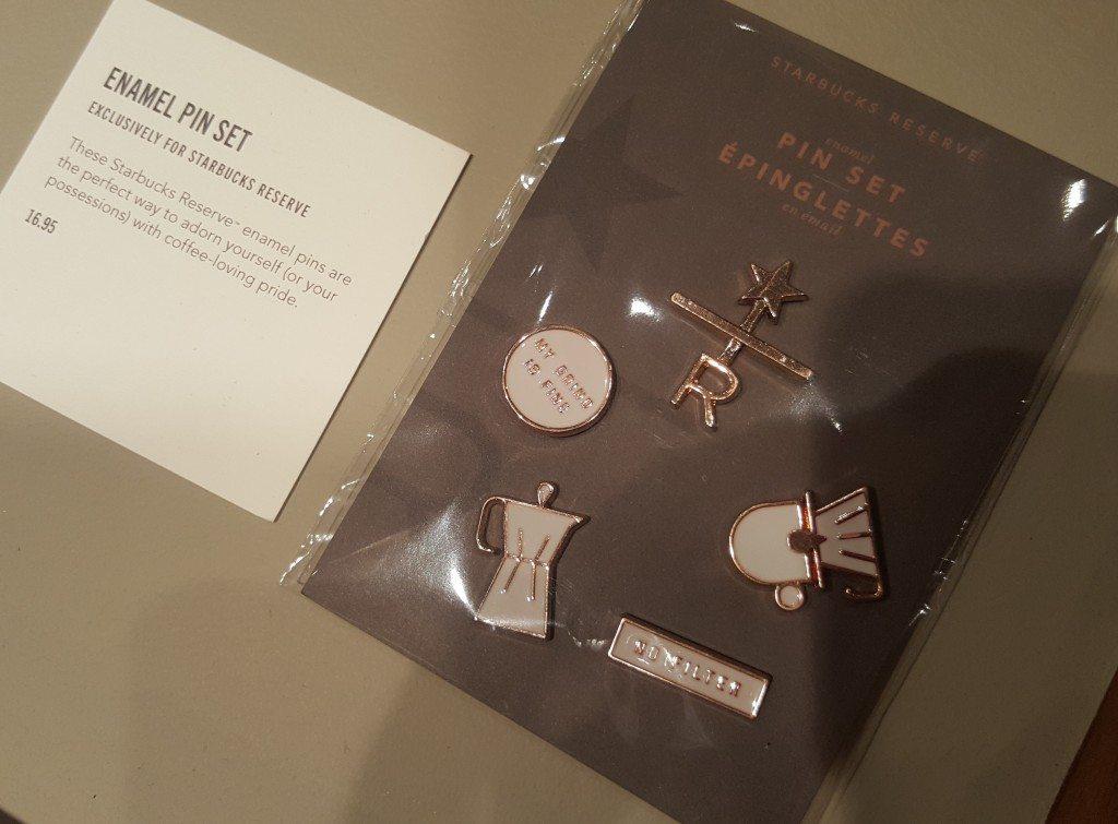 20161110_194403 Roastery enamel pin set