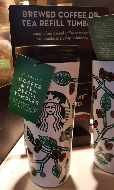 db7821f9410 The January 2017 Starbucks Refill Tumbler is Back. - StarbucksMelody.com