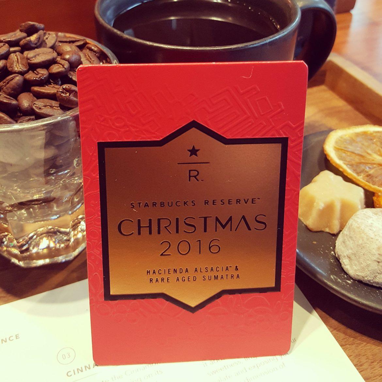 Christmas Reserve Blend: December 8th it arrives.