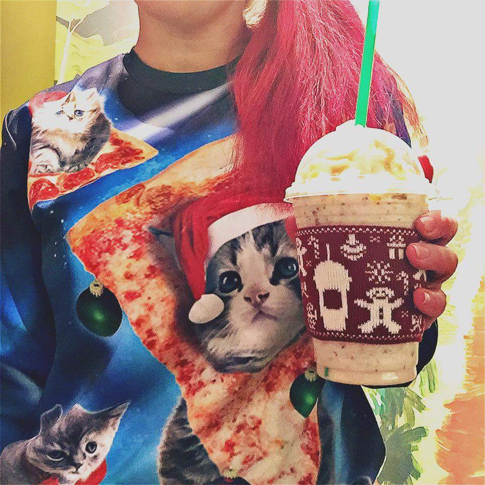 Get the Fruitcake Frappuccino Dec. 15th – 18th!