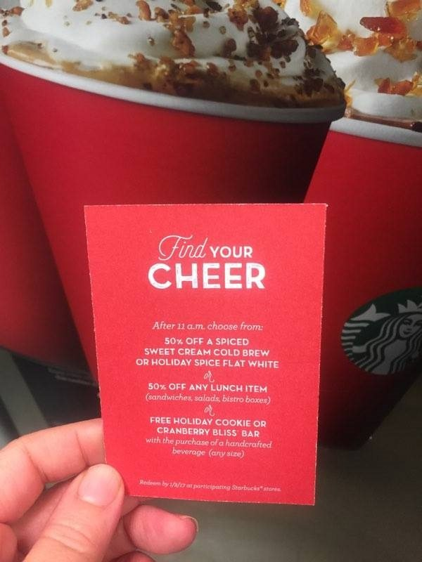 For 10 Days, Santa Starbucks is Delivering Free Tall Handcrafted Espresso Beverages. (See details)
