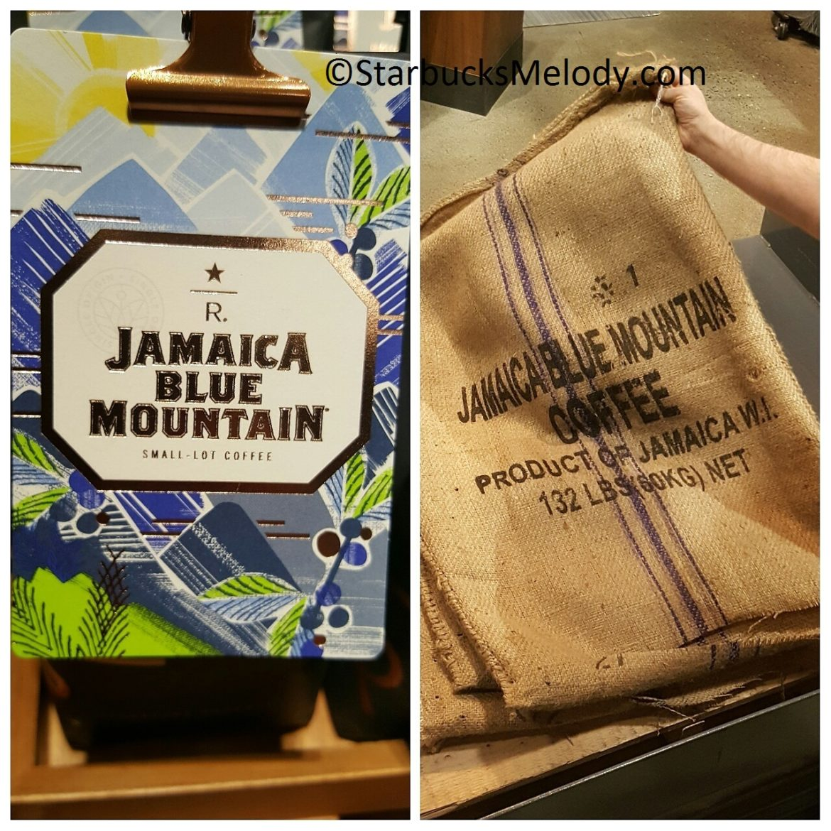 Delicious Jamaica Blue Mountain Coffee Returns to Starbucks. ($34.50 for 8 ounces)