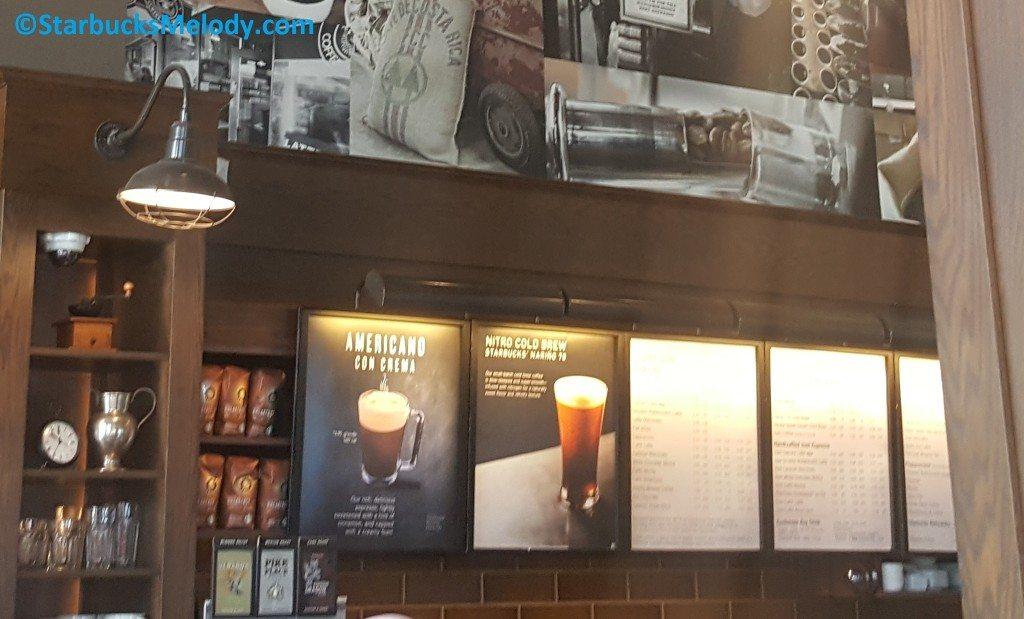 2 - 1 - 20170131_115149 Americano Con Crema at Ballard Starbucks