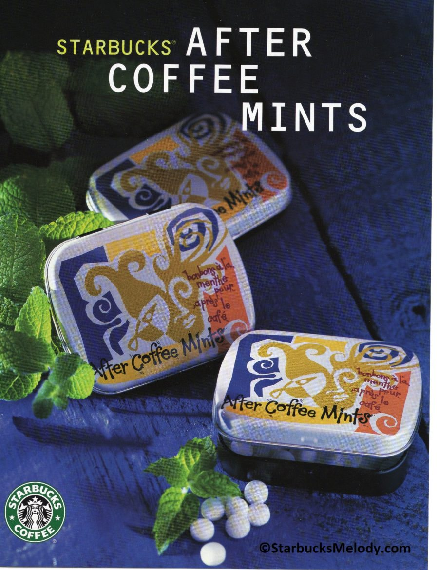 Starbucks After Coffee Mints: 1998 History #FlashBack