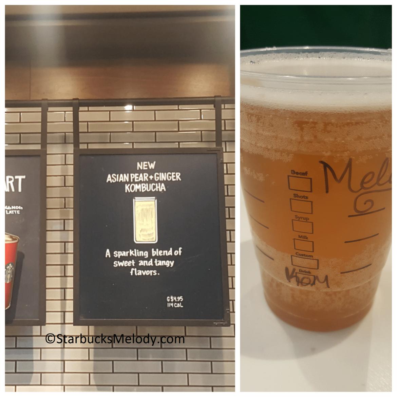Starbuckian Kombucha