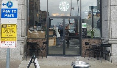 2 - 1 - 20170203_112322 front of 2nd and Madison Starbucks