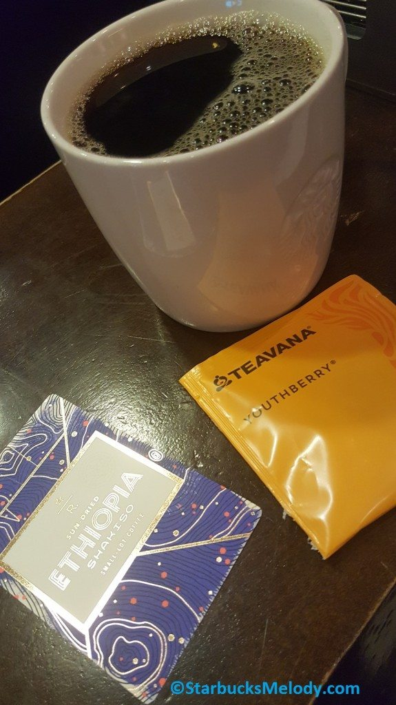 2 - 1 - 20170211_124420 Ethiopia Shakiso with Youthberry Teavana Tea