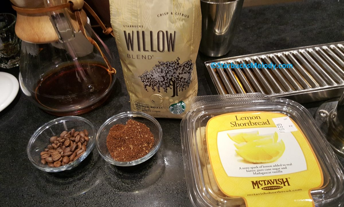 Starbucks Willow: Excellent Pairing and Tasting at East Olive Way Starbucks.