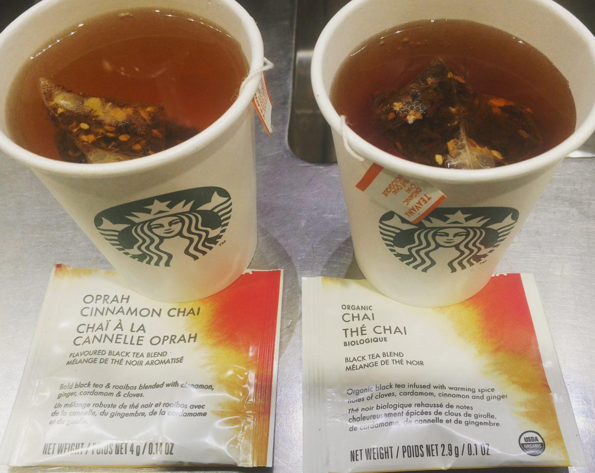 Starbucks Stores Say Goodbye to Oprah Chai