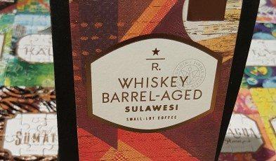 20170310_181500 4 oz bag of Whiskey Barrel Aged Sulawesi