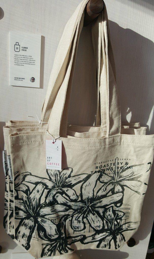 1 - 1 - 20170410_082315 roastery tote bag flowers