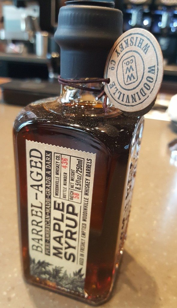 1 - 1 - 20170410_173213 whiskey barrell aged maple syrup