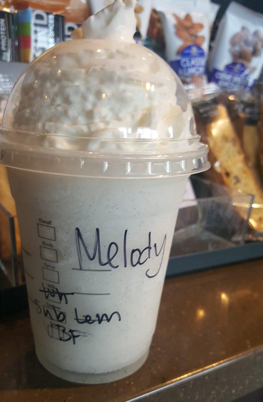 The Lemon Slush Frappuccino