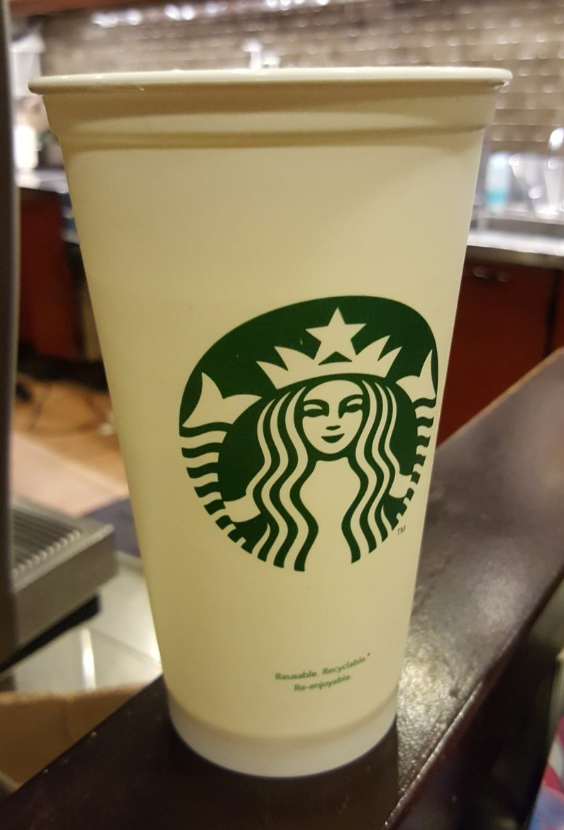 Earth Day at Starbucks: Free Reusable Cup to the first 25 Customers.