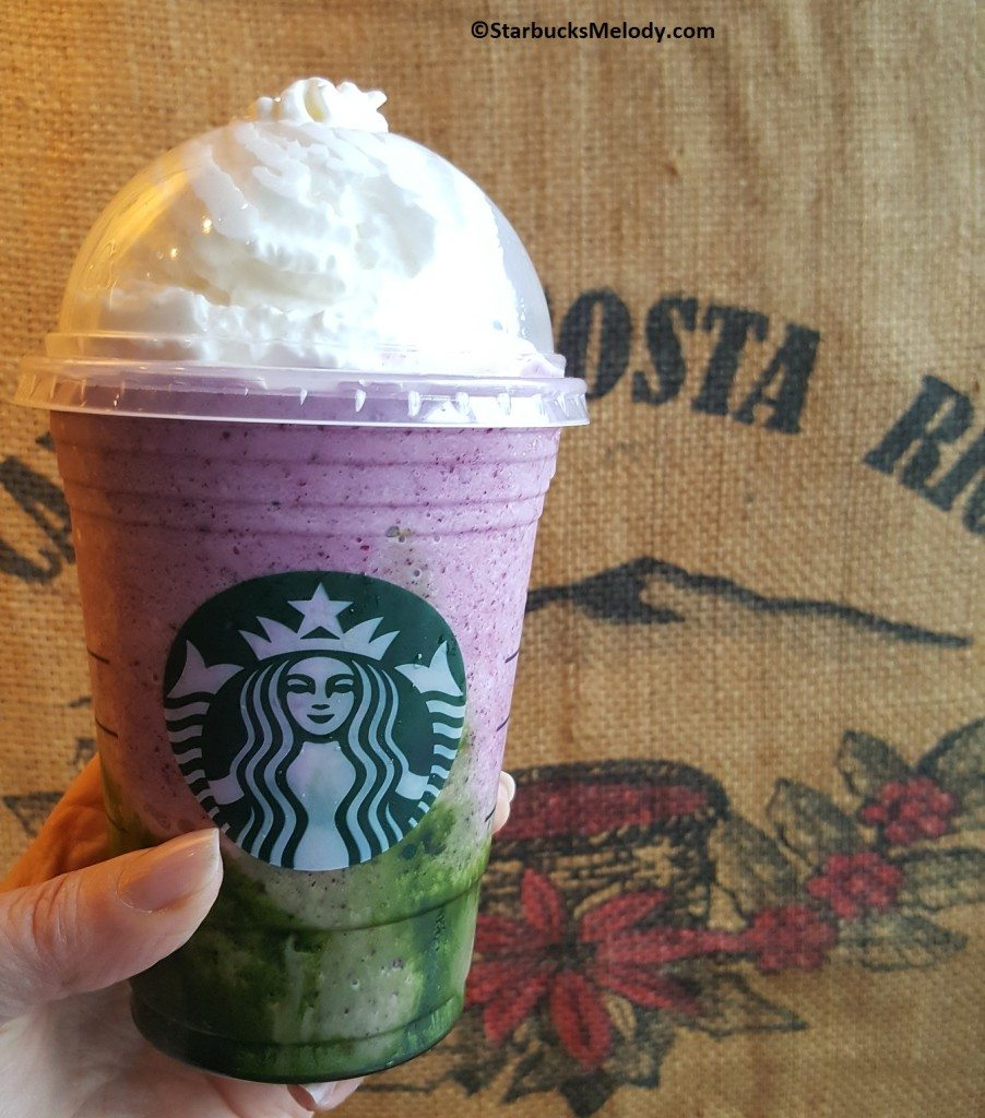 20170427_183816 The mermaid Frappuccino