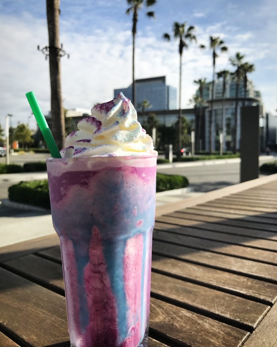 The Magical Unicorn Frappuccino at Starbucks: It's as real as can be for a short while.
