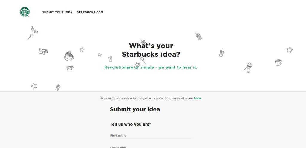 31 May 2017 New My Starbucks Idea