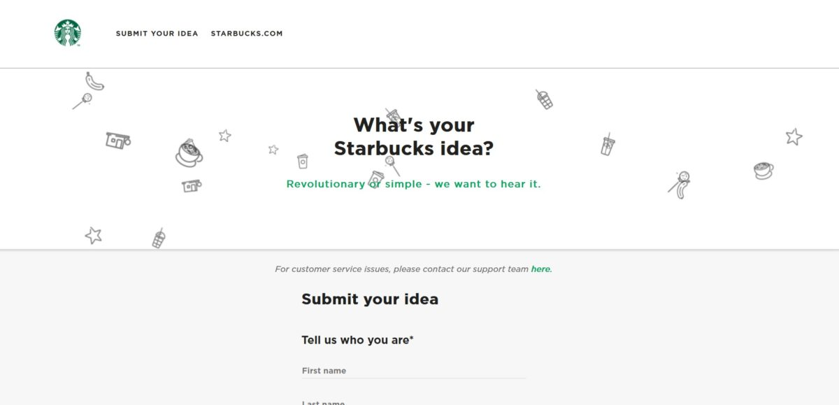 Starbucks nixes the MyStarbucksIdea community: You can still submit ideas.