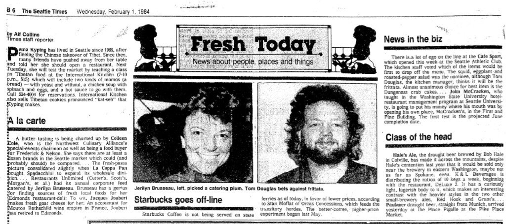 1 Feb 1984 Starbucks on Washington State Ferries