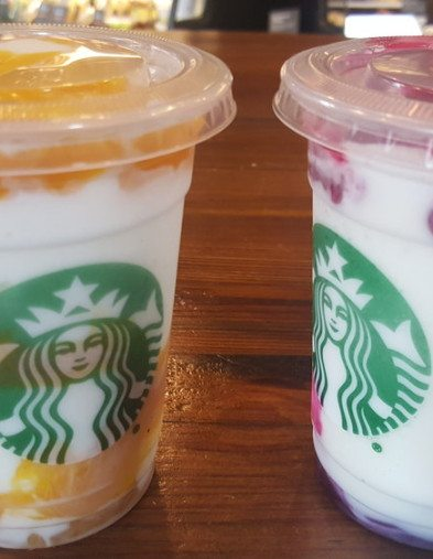 2017 June 18 2 new Frappuccinos