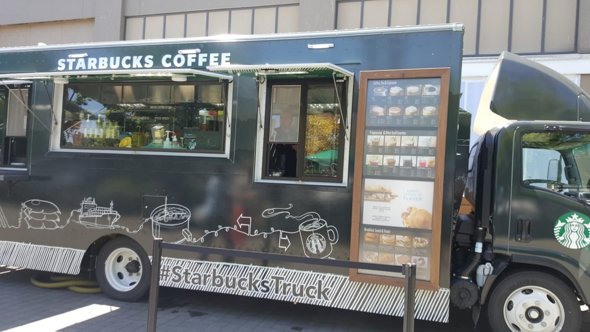 Adorable Starbucks Truck: Full Menu, Cold Brew, Mobile Order & More!