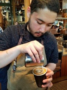 2017 July 03 Paolo latte art