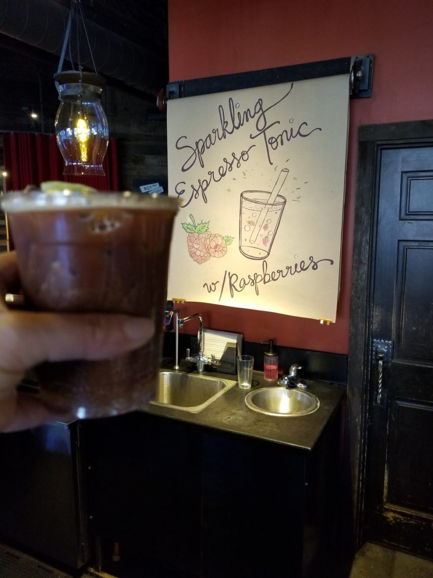 Espresso Tonic with Raspberries: And much more at Roy Street (owned and operated by Starbucks)