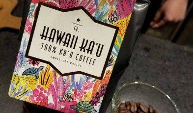 Kau coffee with whole bean