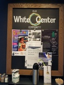 2017 August 05 White Center Starbucks community board