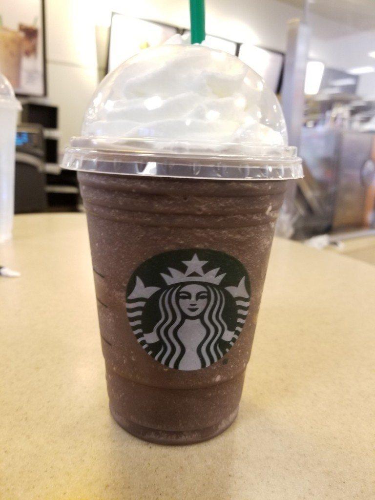 Dark Mocha Frappuccino 30 August 2017 Target Anaheim 1