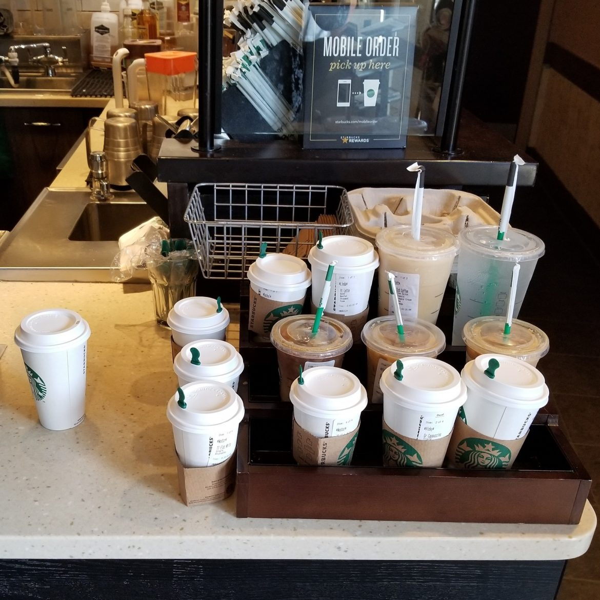 What is the Starbucks customer seismic shift?