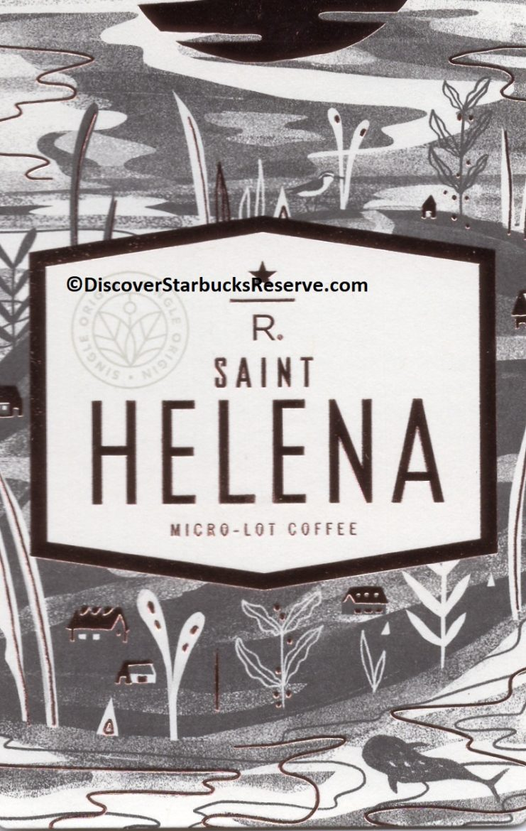 2 - 1 - St Helena Micro Lot coffee 2017 front