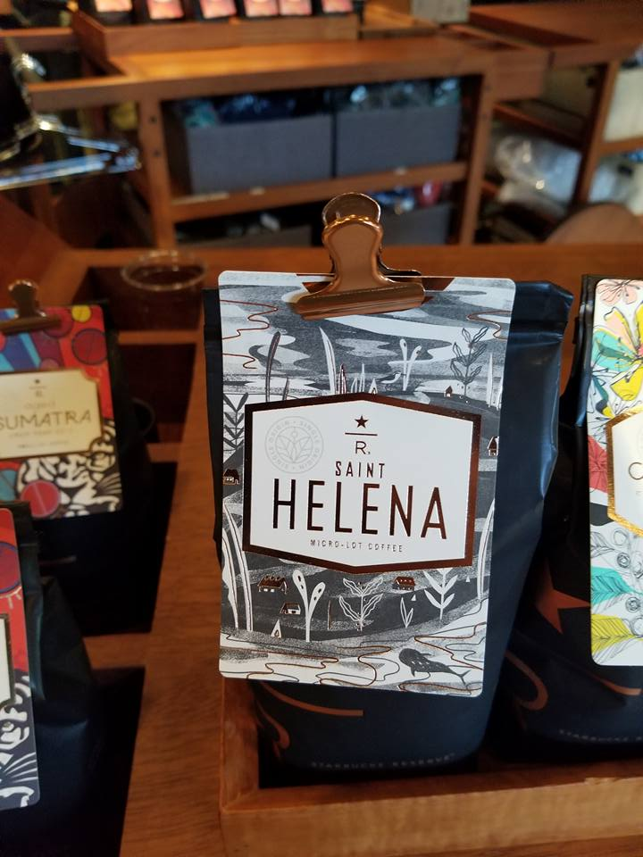 St. Helena coffee – extremely rare micro lot coffee – returns to the Roastery!
