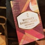 2017 Sept 17 Whiskey Barrel-Aged Sulawesi whole bean coffee