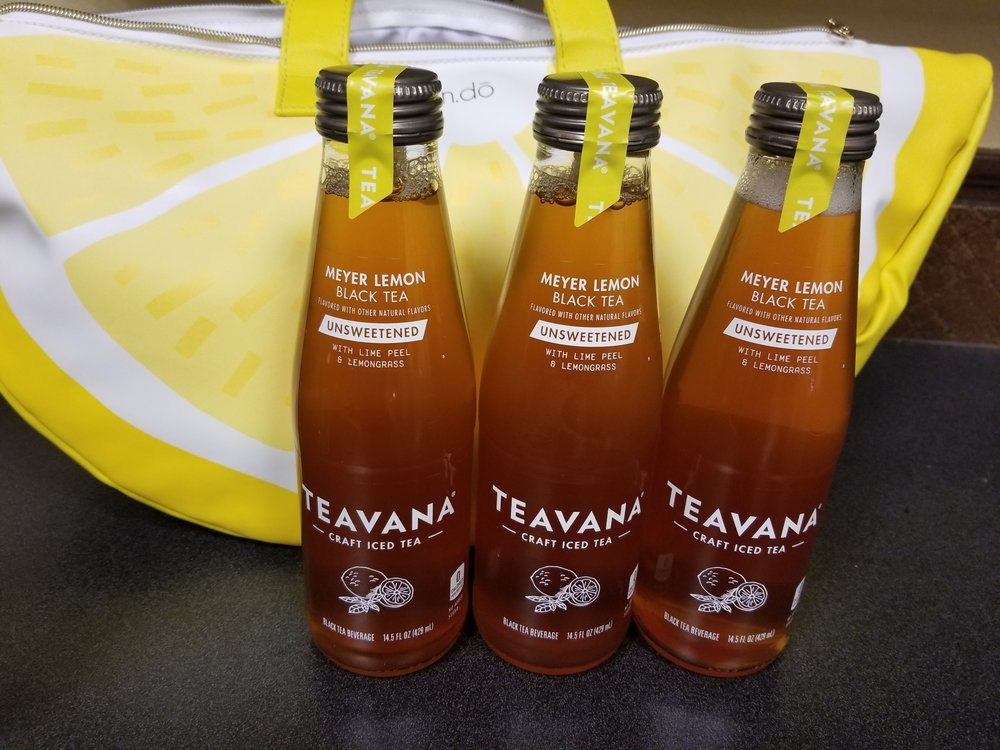 Teavana Unsweetened Black Tea – Bottled and ready-to-drink!
