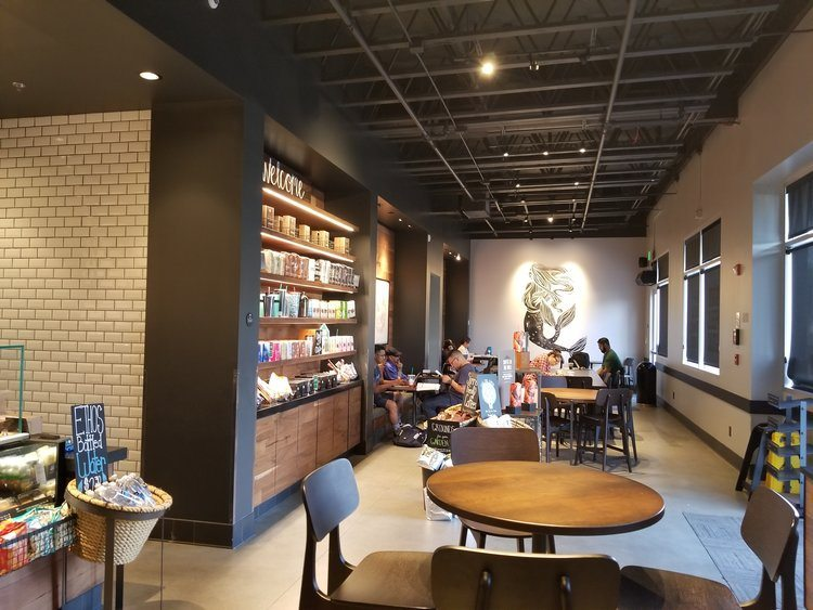 Fontana Starbucks lobby 29 August 2017